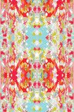 fabric by the yard: watercolor ikat on heavy cotton twill | candy kirby designs/want but don't want to dry clean.