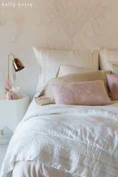 Arielle and Josephine combine to create a feminine and tailored bedroom design