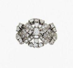 Anillo de platino y brillantes - Platinum and brilliant cut diamonds ring