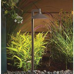 "Kichler Landscape 26""H 2700K LED Bronze Ripley Path Light"