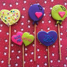 Friendship Valentine's cookies Heart cookies saint valentine's  icing glass 14 february Galletas de corazon de san valentin, 14 de febrero