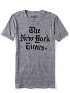 ALTRU New York Times Tee Shirt