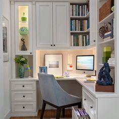 Great desk area
