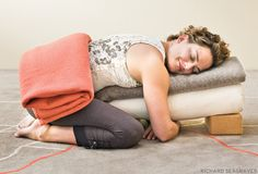 A restorative yoga sequence to feel cradled and protected from Yoga Journal