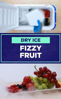 Wanna make fruit taste fizzy? Here's how!