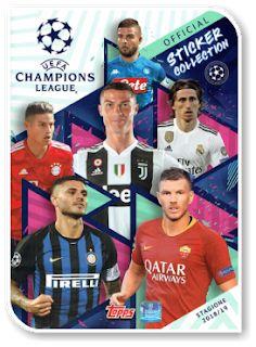 Topps Champions League 18//19 Sticker 22 Club Logo