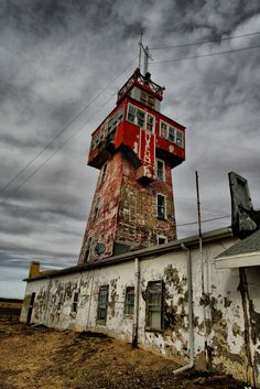 The Wonder Tower in Genoa, Colorado. Built in 1926, the interior was a museum of oddities until the last curator died in July of 2013 and it was abandoned.