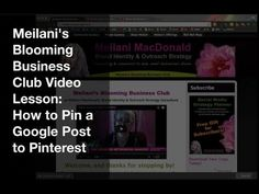 How to Pin a Google Post to Pinterest