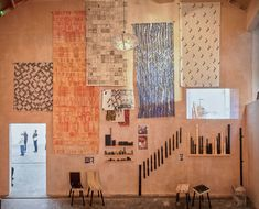 Assemble Awarded the 2015 Turner Prize for Granby Four Streets,Items produced by the Granby Workshop to raise regeneration funds. Image Courtesy of Assemble