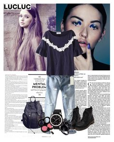 """Lucluc 6"" by lula-l ❤ liked on Polyvore featuring moda, Eddie Borgo y Briston"