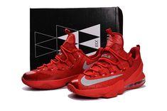 Nike Lebron 13 Low Men Shoe Red Lebron 13 Low, Nike Lebron, Discount Nikes e667281e3a73