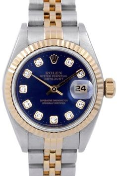 a Rolex even though I can't stand things on my wrists