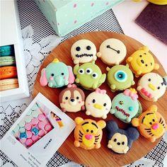 tsum tsum customize macaron
