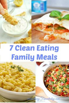 Last week I posted on how food can have a significant impact on a child's behavior. If you missed it, you can read it here. A healthier diet can have such a positive effect on our lives that I thought I would share 7 easy clean eating family meals that kids will love and so …