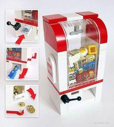 Lego figure claw game for minifigures. Minifigura Lego, Lego Craft, Lego Batman, Lego Ninjago, Casa Lego, Lego Furniture, Minecraft Furniture, Festa Hot Wheels, Construction Lego