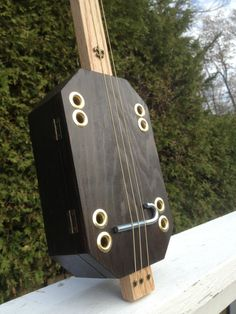 Cigar Box Guitar  Acoustic and Electric Slide by GrubbyGuitars, $70.00
