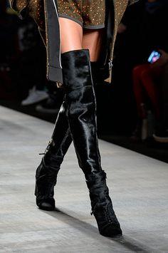 Fall Fashion 2014 Trend Knee High Boots FENDI