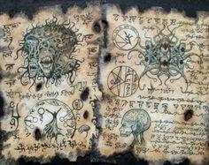 YOG SOTHOTH INCANTATION cthulhu larp necronomicon magick by zarono