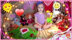 Девочка 4 годика мило играет в куклы | Cute girl playing with dolls 2015 HD