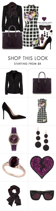 """""""Voy de prisa"""" by rudyclau on Polyvore featuring moda, Alexander McQueen, Yves Saint Laurent, Gianvito Rossi, Christopher Kane, Henry London, Kenneth Jay Lane, Effy Jewelry, I Know The Queen e STELLA McCARTNEY"""