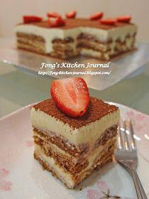 Fong's Kitchen Journal: Tiramisu Cake