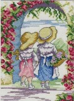 English Roses - All Our Yesterdays Cross Stitch Kit