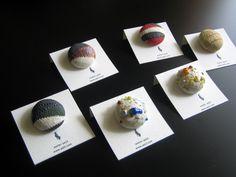 陶磁器くるみボタン!(covered button)