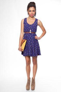 Everly Dandilion dress / tobi