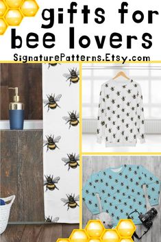 Bzzzzz get some bee goodies! Shop at Etsy.me/2TsBtpm Bee Gifts, Bee Theme, Cards For Friends, Fun Prints, Cat Lover Gifts, Handcrafted Gifts, Holiday Gifts, How To Draw Hands, Etsy Seller