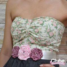 Cinto com rosas (clique na foto e confira o passo a passo)
