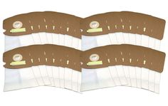 36 Eureka Vacuum Bags Style MM for Mighty Might Vacuums Part #60295, 60296, & 60297 with HEPA Crucial Closure