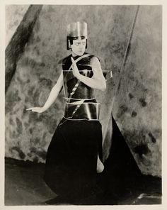Yuliya Solntseva as Aelita inAelita(Aelita: Queen of Mars) Directed by Yakov Protazanov, USRR, 1924