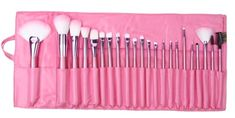 Best Makeup Brush Set | New Women Lady Flawless Complexion Foundation Concealer Makeup Cosmetic 22 Pcs Brush Set Kit with a Roll up Case Beauty Accessory >>> You can get additional details at the image link.(It is Amazon affiliate link) #la