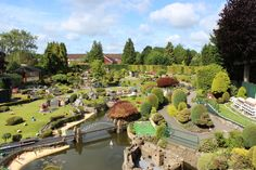 Bekonscot Model Village and Railway, Buckinghamshire, England - World's oldest and original model village, opening for the first time in 1929. Huge model railway, 1.5 acres of well kept gardens and finely detailed model buildings. Stuck in a 1930s time warp, see England how it used to be!