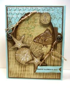 SUO69 Fish for Father's Day :-) by Julie Gearinger - Cards and Paper Crafts at Splitcoaststampers