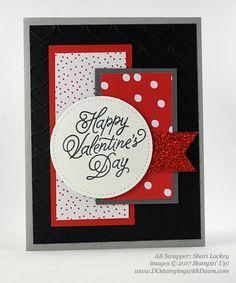Valentine Swap card shared by Dawn Olchefske #dostamping (Shari Lackey)