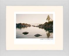 Modern Gallery Framed Print, White, Contemporary, None, Cream, Single piece, 8 x 10 inches, White