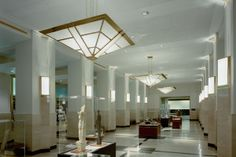 Decorative Lighting, Commercial Decorative Lighting, Ramsey County Courthouse (Pendants, downlights, sconces)