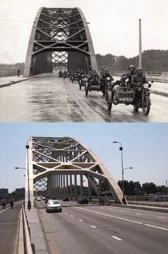 Waalbrug bij Nijmegen in 1937