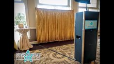 The Signature Package is our most popular open air photo booth rental package with 10 different photo backdrop options included.