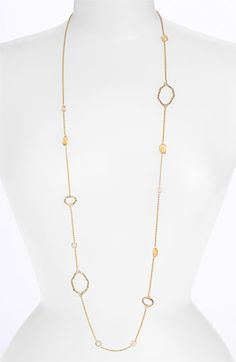 Alexis Bittar 'Delano' Long Station Necklace (Nordstrom Exclusive) available at #Nordstrom