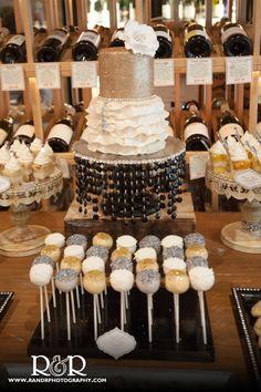 Bridal Shower cake pop favor