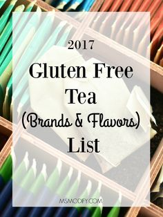 Many herbal teas add barley malt as sweetener or use roasted barley as an ingredient. Learn which brands/flavors are gluten free!