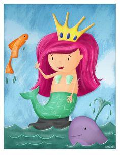 How's about a little mermaid for today!
