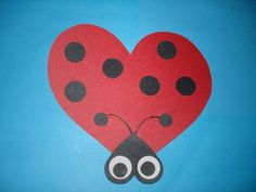 Valentines Day Craft from shapes