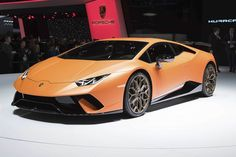 New Huracán Performante Is the Most Powerful V10 Lamborghini Ever - Bloomberg