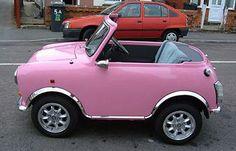 too cute! Pink mini Mini!