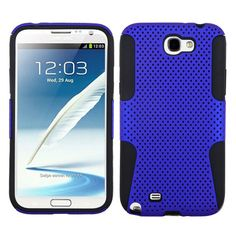 MYBAT Astronoot Protector Case for Galaxy Note 2 - Blue/Black