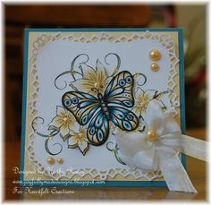 Butterfly Melody - Heartfelt Creations by rosekathleenr - Cards and Paper Crafts at Splitcoaststampers