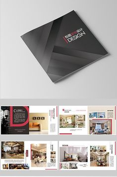 Simple style home decoration Brochure Brochure Design Layouts, Graphic Design Brochure, Corporate Brochure Design, Creative Brochure, Graphic Design Print, Layout Design, Interior Design Chicago, Best Interior Design Websites, Book Design Templates
